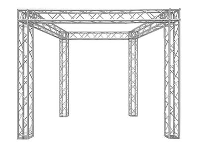 10' x 10' x 10' Global Truss/Box Truss Configuration