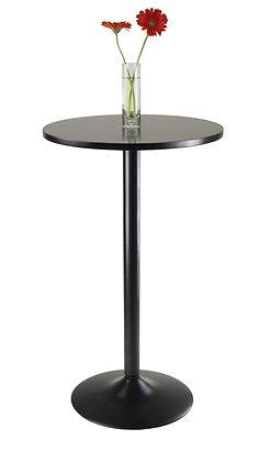 "Obsidian Bar Bistro Table 23.5"""