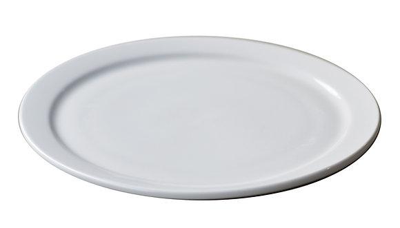 """10"""" China Plate White"""