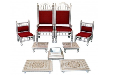 Mandap Chair Set