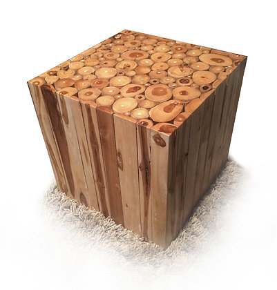 Wood Square End Tables