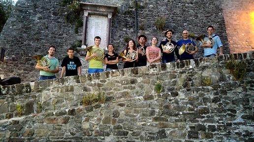 Gli Allievi al Castello