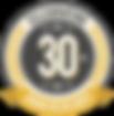 30 Year Anniversar Badge