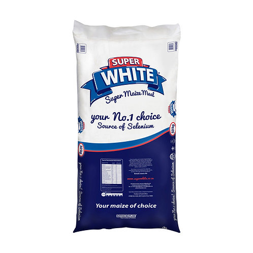 White Super Maize Meal White (1 x 50kg)