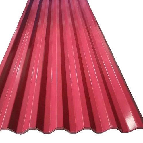 Prepainted GI steel coil color coated galvanized corrugated sheet for roofing