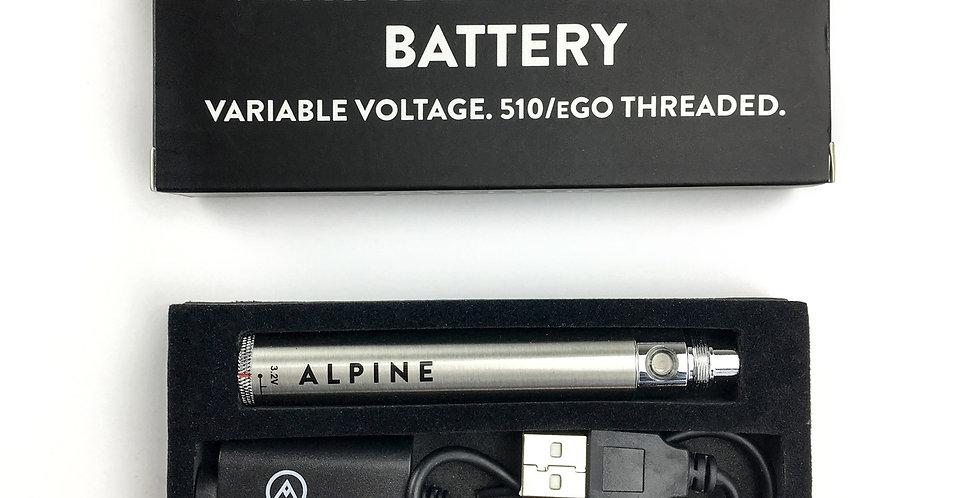 Alpine Vapor – Variable Voltage Battery