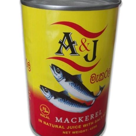 25g branded Australia canned mackerel fish Jurel