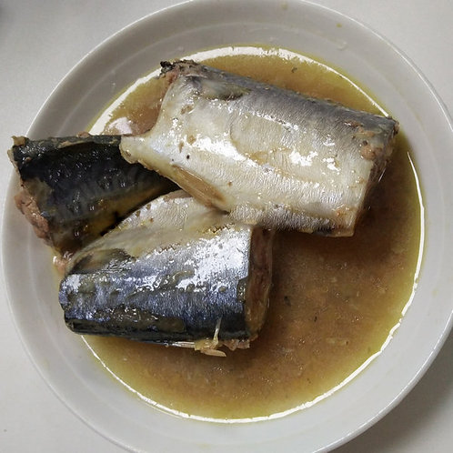 425g Canned Fish Canned Mackerel in Brine