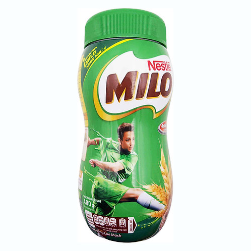 Milo regular powder 400 grs in plastic jar - cocoa powder