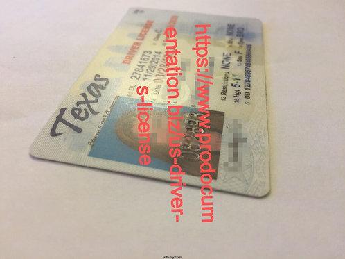 Texas Driver's License & ID