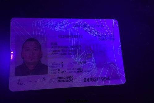 North Carolina ID & Driver's license