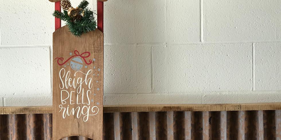 Sleigh Hanger Workshop