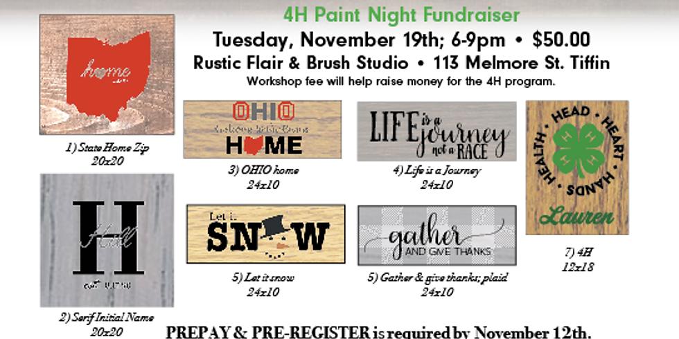 4H Fundraiser Workshop