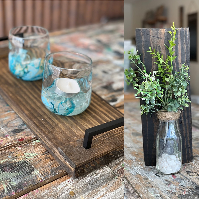 Wall vase OR candle tray