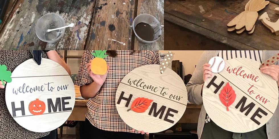Interchangeable H O M E: Take & make DIY kit