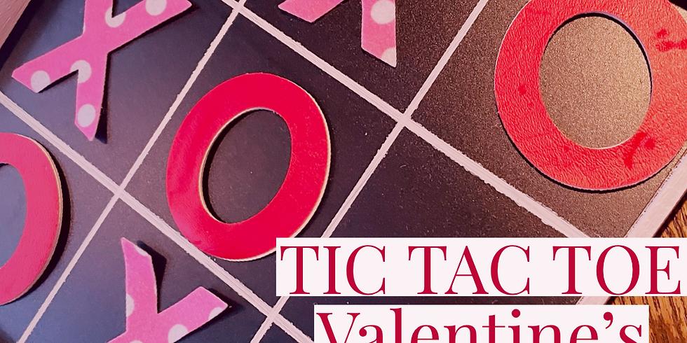 Kids Project: Valentine's Tic Tac Toe Board
