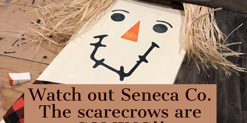 Public Paint: family scarecrow night