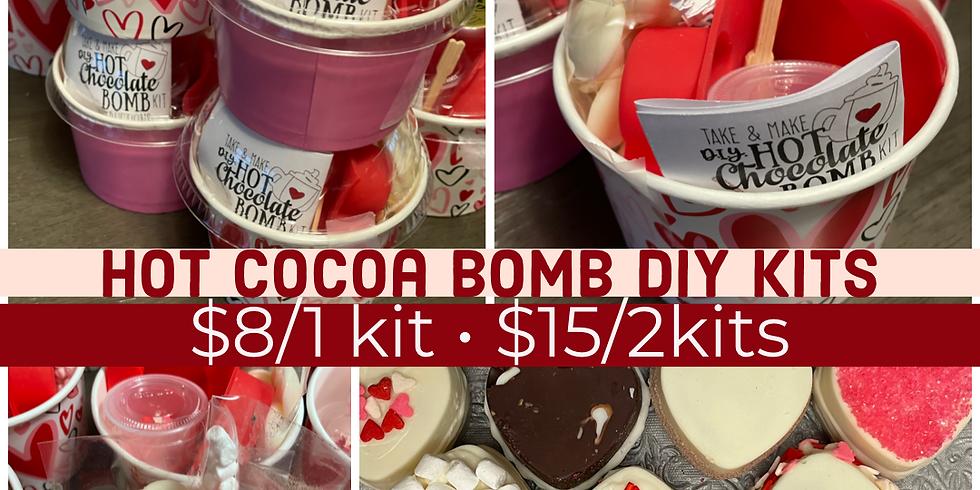 Take & Make Hot Cocoa Bomb Kit
