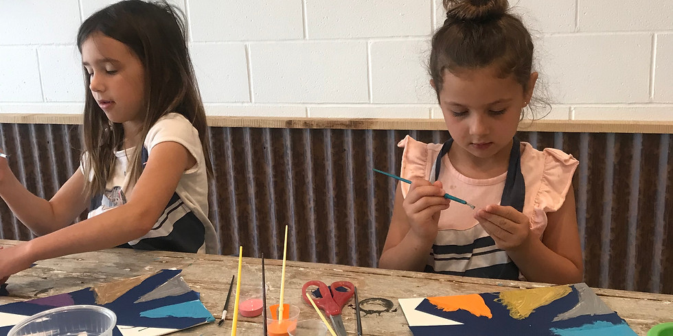 After School RF&B Workshop: ABSTRACT CANVAS!