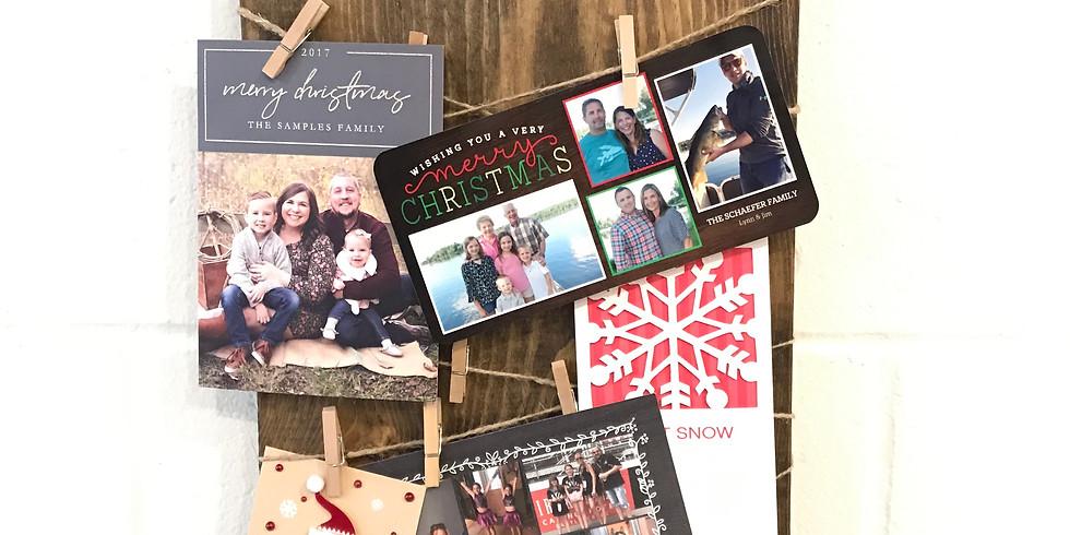 Holiday Card Holder Workshop