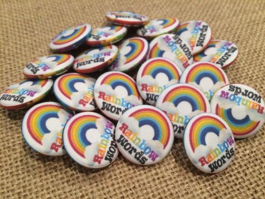 """Rainbow Words"" Snap-its"