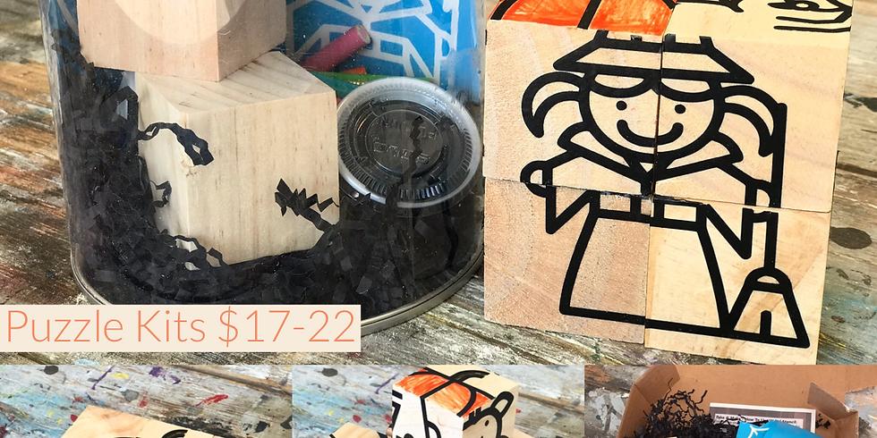 Kids Puzzle Take & Make