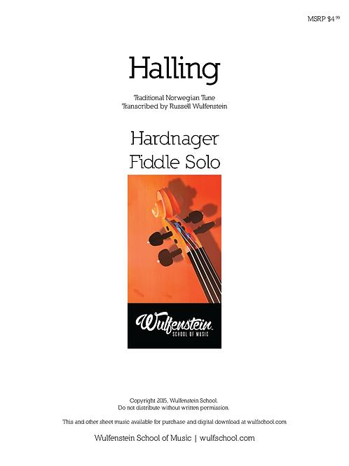 Sheet Music: Rotnheims-Knut - Halling for Hardingfele