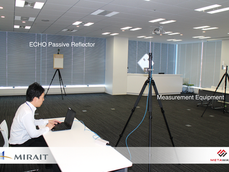 MIRAIT and METAWAVE conducted indoor demonstration test of ECHO™ using metamaterial tech for 5G