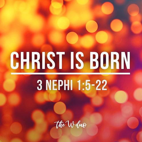 Christ Is Born Sheet Music