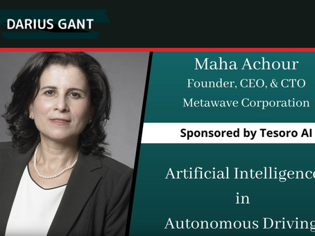 Artificial Intelligence in Autonomous Driving: Interview with Maha Achour of Metwave Corporation