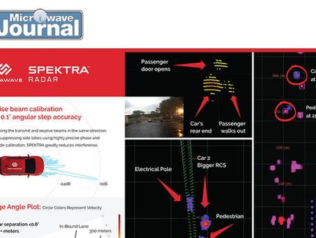 Metawave SPEKTRA™ Beamsteering Analog Radar Demonstrating Long-Range, High-Resolution, and Accuracy
