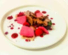 postre menú degustación restaurante cas tarbeners