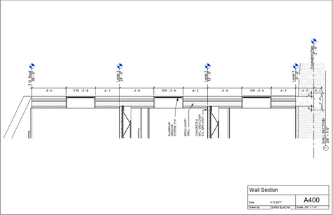 Wall Section Drawing