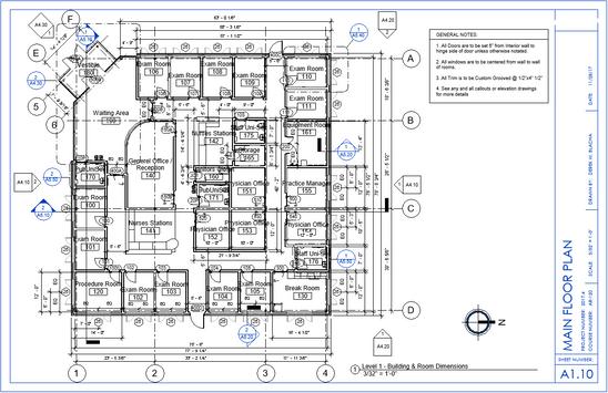 Medical Facility Main Floor Plan.PNG