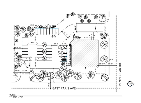 Medical Facility Site Plan
