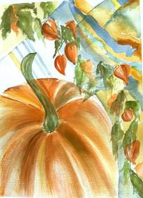 Pumpkin & Lanterns