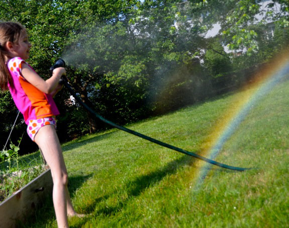 Making Rainbows 101 Sun (Power) + Water (Emotion) = Rainbow (Promise)