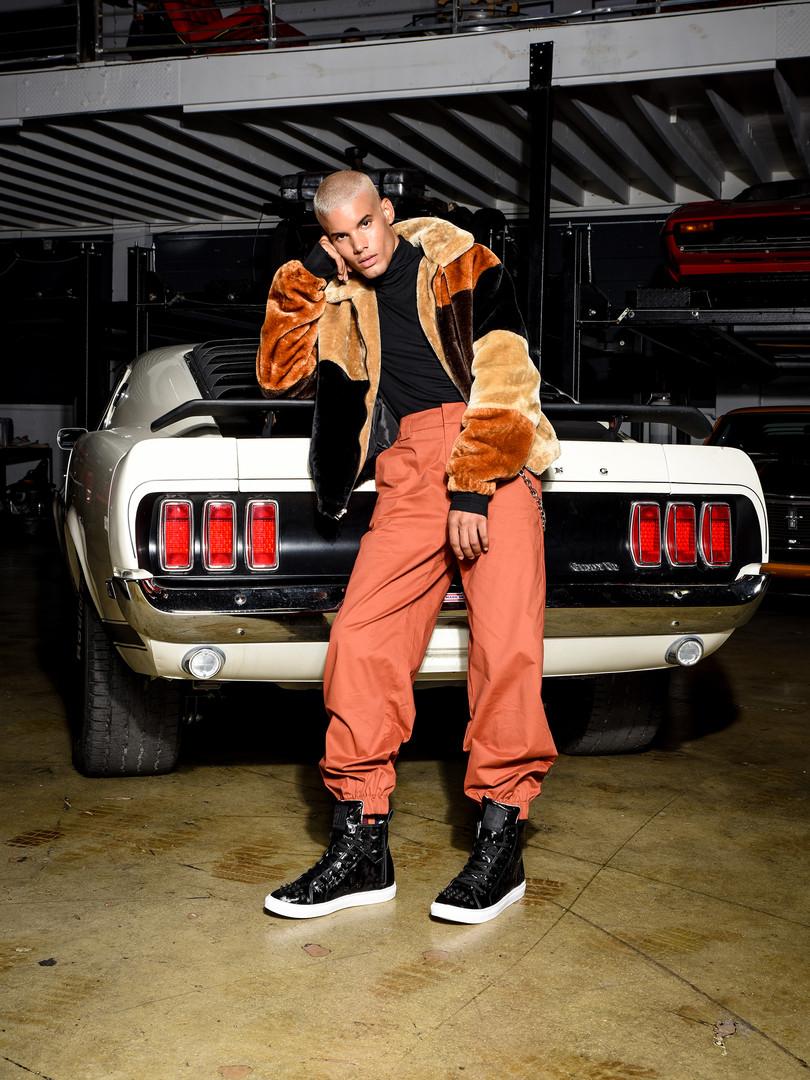 Kruzin Footwear - Crazy Horse Camo Black