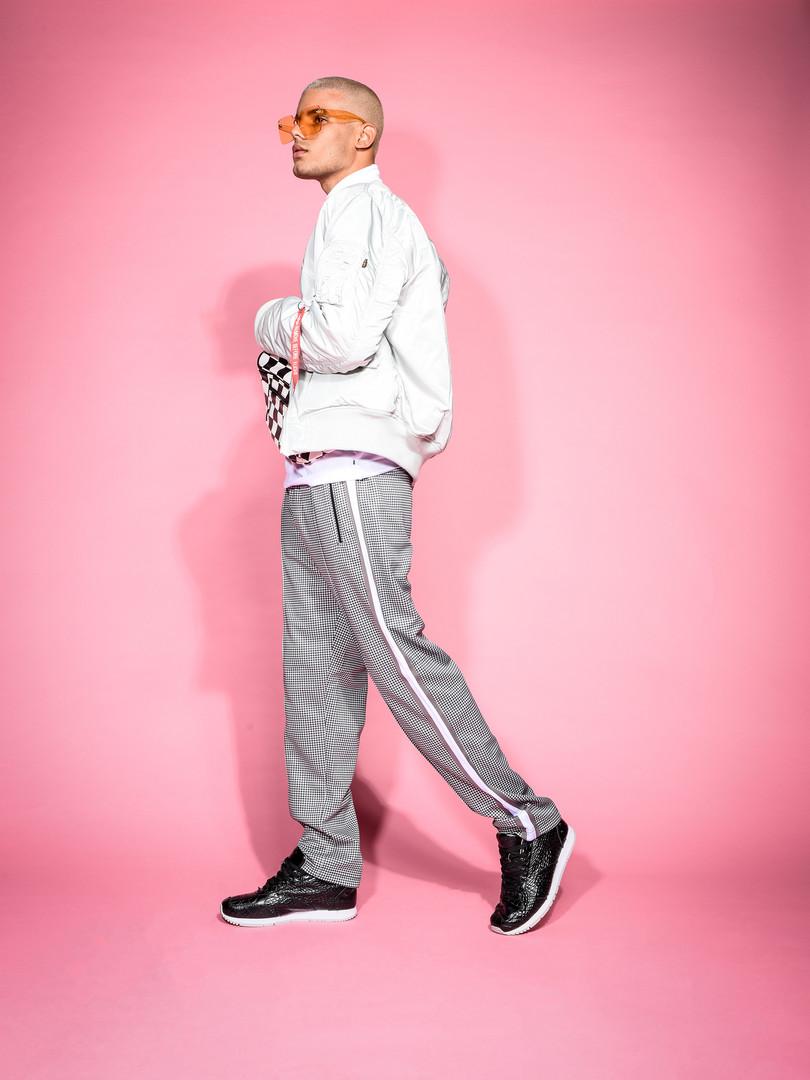 Kruzin Footwear - Boston Runners Croco Black