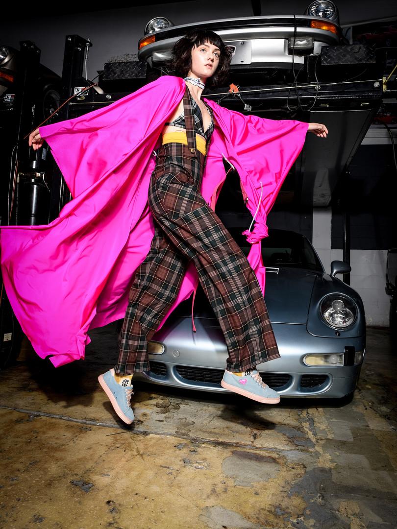 Kruzin Footwear - Nicki Denim Pink