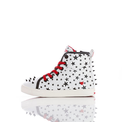 Kruzin Mini White Stars