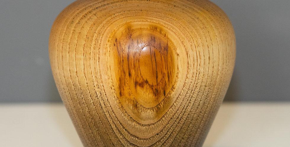 Sweet Chestnut Ombre Heart Vase