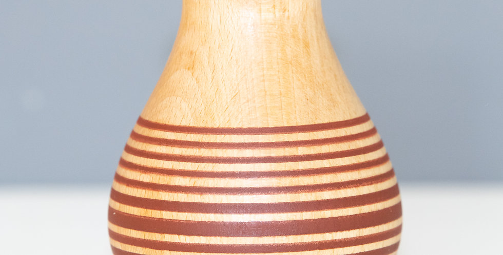 Striped Beech Vase