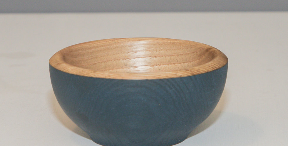 Small Blue Sweet Chestnut Bowl