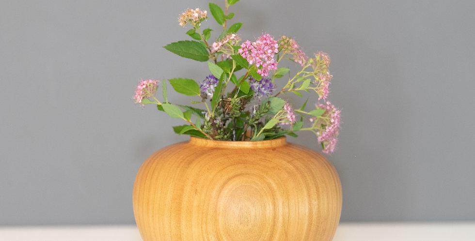 Cherry heart vase