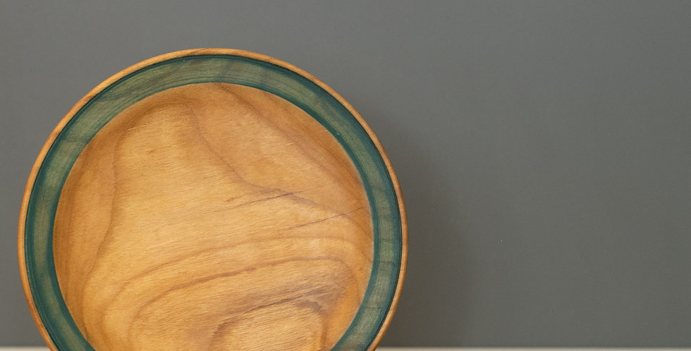 Pair of cherry side plates