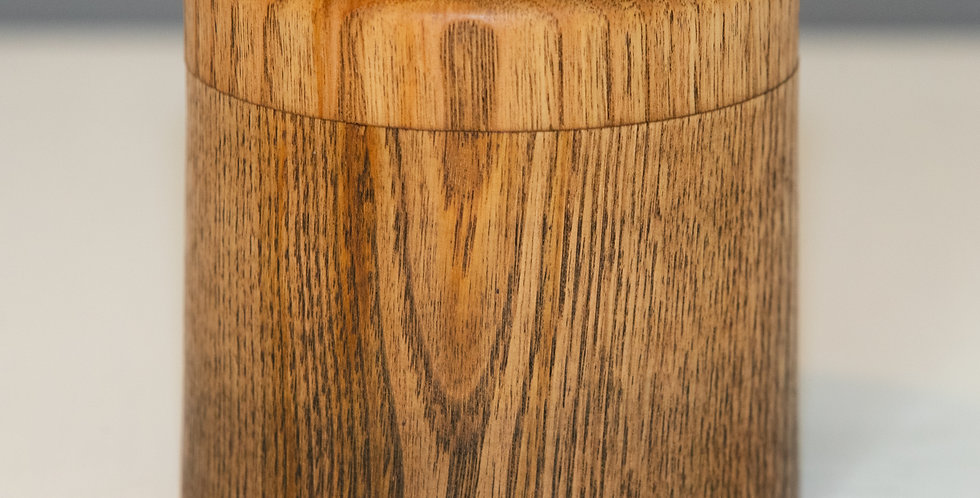 Large Sweet Chestnut Ombre Box