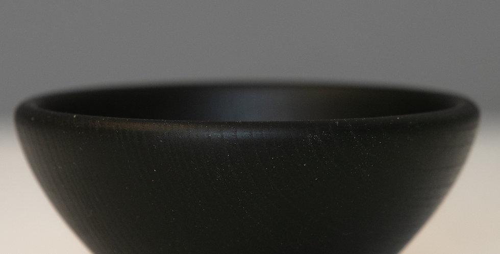 Small Ebonised Sweet Chestnut Bowl