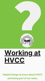 Working at HVCC
