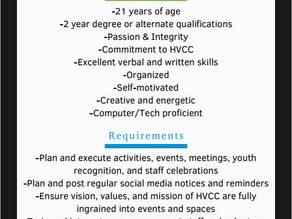 New Opportunity at HVCC